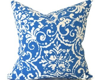 Blue Outdoor Pillows ANY SIZE Outdoor Cushions Outdoor Pillow Covers Decorative Pillows Outdoor Cushion Cover Best Pillow Affair Cornflower