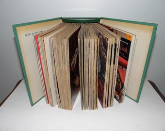 Good Housekeeping's Binder of Cook Books dated 1958 containing 18 Individual Paperback Cookbooks