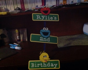Sesame Street Birthday Decor