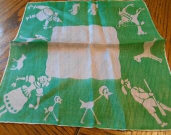 Childs Silk Hankie / Handkerchief