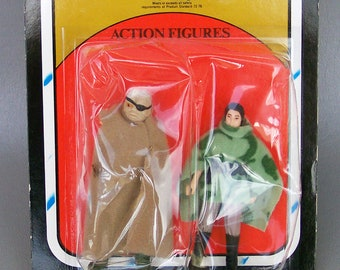 SALE - Vintage Star Wars ROTJ Rare 2 Pack Endor Leia and Prunface MOC New in Packaging 1983 Kenner