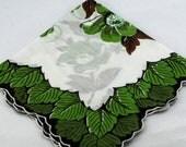 Vintage Unique Leaf Hankie Frame, Sew, Quilt #C-13