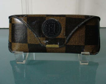 Vintage Made in Italy Fendi  Eye Glass Case