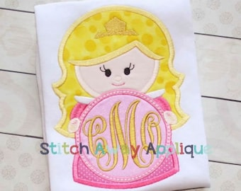 Sleeping Beauty Inspired Monogram - Princess Movie - Custom Tee 2030