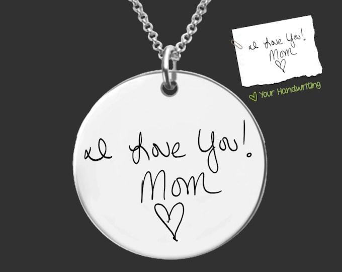 Handwriting Jewelry | Handwriting Necklace | Signature Jewlery | Personalized Gifts | Korena Loves