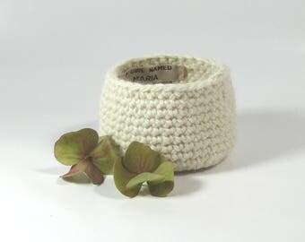 Crochet Basket Organizer / Housewarming Gift