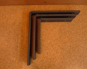 Heavy Duty Steel Shelf Brackets