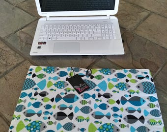 Laptop cover,  laptop sleeve, Notebook cover, fits 15 inch x 10.25 laptop
