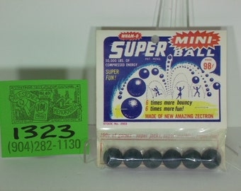1960's Wham-O Superball set of Six-Old Store stock