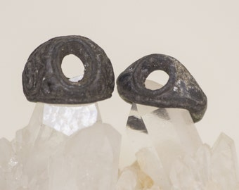 Two Medieval Iron Rings