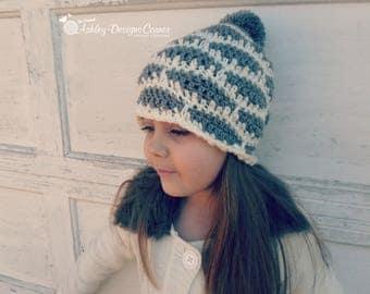 Crochet Pattern Brooklyn Beanie - PDF - Instant Digital Download (Newborn - Adult)