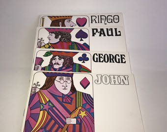 The Beatles The General Register John, Paul, George, Ringo 1968 Birth Certificates Biography Discography Set of 4