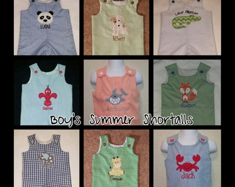 Boys Shortalls or Longalls - Buy 3 or more get 10% off...