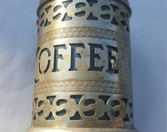COFFEE Container, Canister, , free shipping