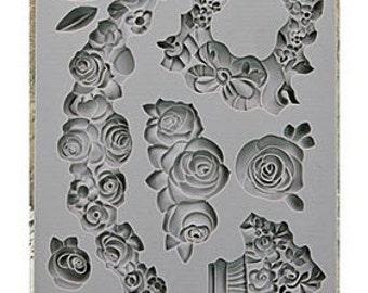 Prima IOD Moulds - Fleur Silicone Mold