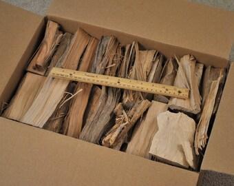 Hickory smoking wood, 24 pounds