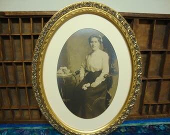 Antique Victorian Framed Photograph