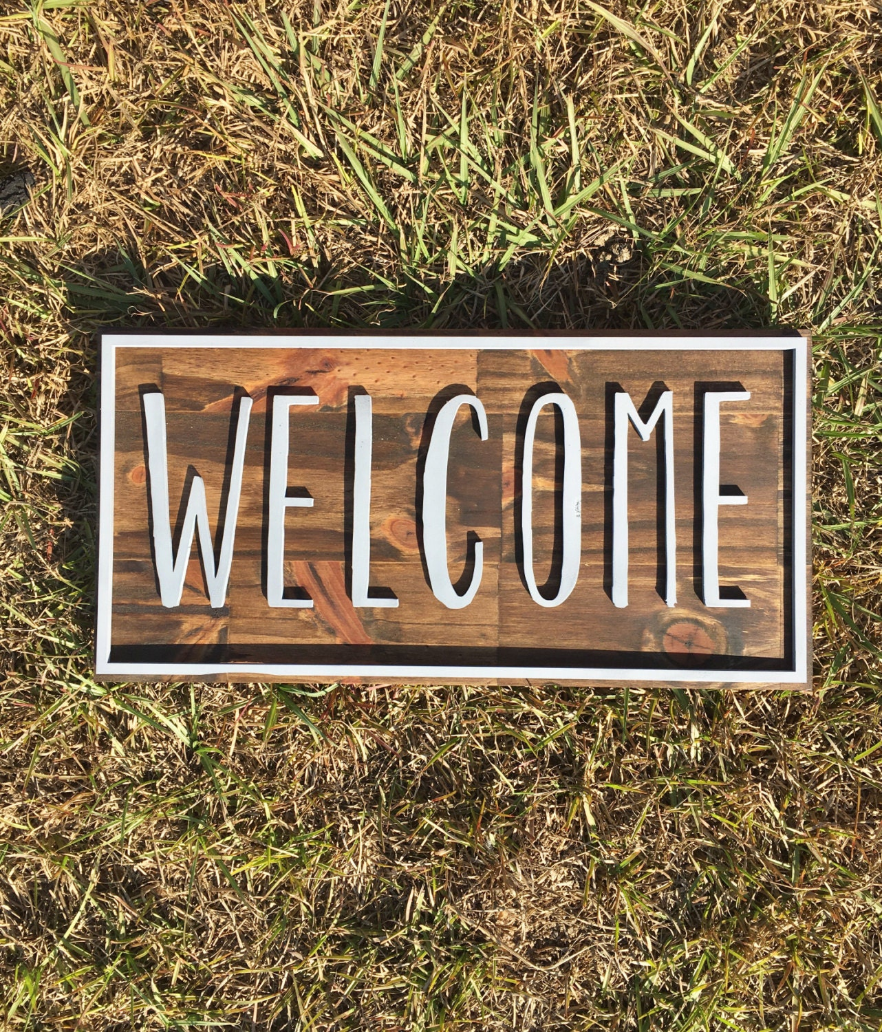 Welcome Sign For Front Door Custom Color Welcome Sign Home