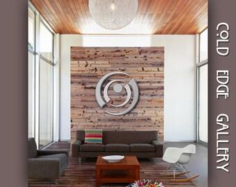 "Large metal wall art, Large wall Art, Contemporary Art ""Inphinitee"""
