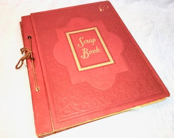 1950s Scrapbook. Texas Graduation. Cards, Letters, Programs. LaMarque Texas High School.