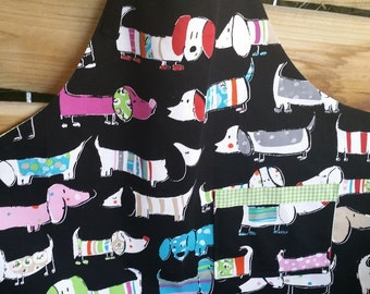 Trendy Apron, ladies apron, craft apron, kitchen apron