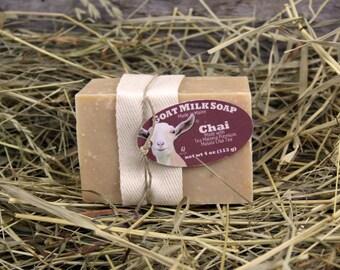 Chai Goat Milk Soap. Masala Chai Goat Milk Soap. Cinnamon Goat Milk Soap. Tea Maineia Goat Milk Soap. Clove Goat Milk Soap. Ginger Soap.
