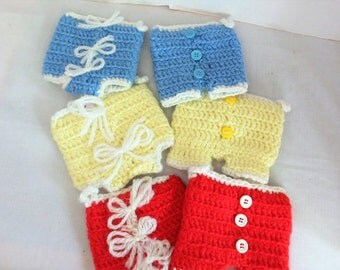 Vintage Hand Crochet Pot Holders