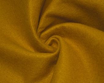 Mustard Acrylic Craft Felt Fabric By the Yard Style 3009