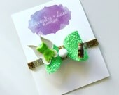 The Tinkerbell Glitter Bow