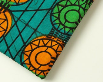 AFRICAN WAX PRINT Fabric / Batik Kitenge Ankara Fabric / Sold By The Half Yard / 100% cotton