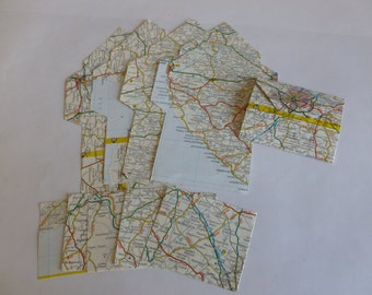 5 gift card envelopes Maps
