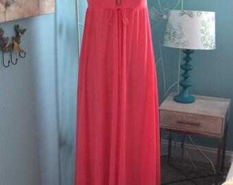 Vintage Vassarette Long Nightgown