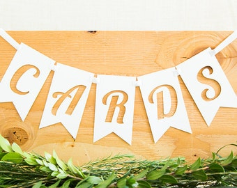 Cards Banner, Wedding Banner, Wedding Signs, Gift Table Sign, Rustic Wedding, Wedding Decoration, Gifts Sign, Party Banner, Cards Sign