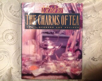 The Charmes of Tea Reminiscenes and Recipes Book Vintage Tea Book