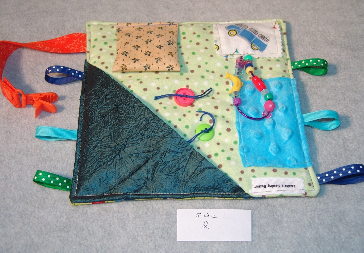 Fidget Blankets Help Comfort Loved Ones With Alzheimer