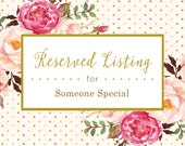 Reserved Listing for Lana