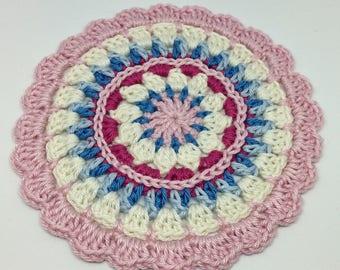 crochet mandala doily