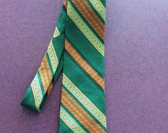 1970's vintage Wembley necktie/ novelty print/ great condition