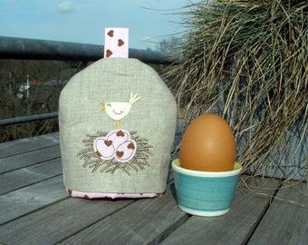 Egg bird's nest