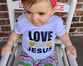 Toddler Christian Shirt, toddler Jesus shirt, Jesus Saying Shirt, Kids Christian Shirt, toddler jesus tee, jesus love shirt, 2T jesus shirt,