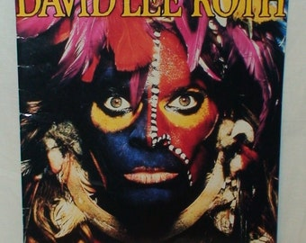 David Lee Roth!  The World Tour Concert Program!  1986!