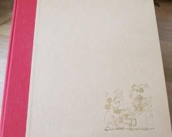 Vintage 1979 Walt Disney Prod. Illustrated Disney Songbook - Never opened or used. - Estate find!