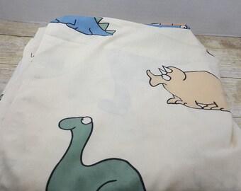 Sandra Boyton Full Size Flat Sheet, 1980s, vintage sheet