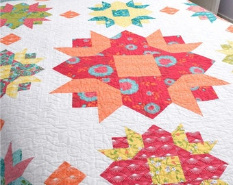 She Quilts Alot-SPRING PDF pattern by Peta Peace