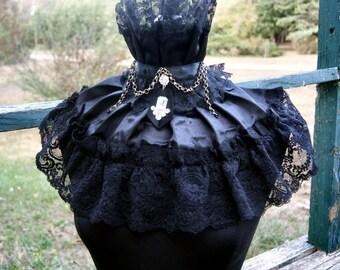 SALE, Four Steam Punk Collar Lolita Collar,Gothic Collar, Victorian Collar , Ready To Ship
