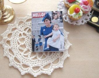 dollhouse princess charlotte magazine 12th scale miniature