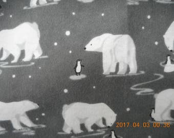 Polar Bears and Penguins Pillowcase