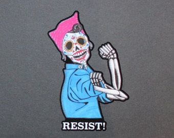 Day of the Dead Pussy Hat Resistance Rosie the Riveter #140-#142