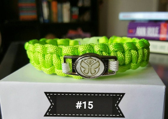 tomorrowworld bracelet tomorrowworld tomorrowland paracord bracelet with charm many 7261