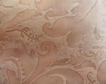 Fortuny vintage cotton fabric sample, Lucrezia, 9 x12, Driftwood Monotones,  No.5284 / designer fabric sample